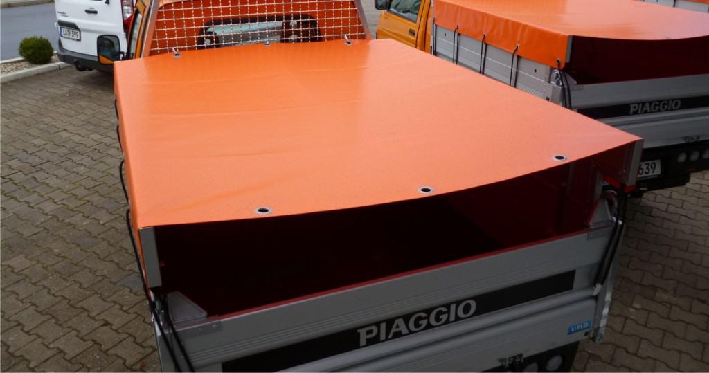 PVC-Abdeckplane groß