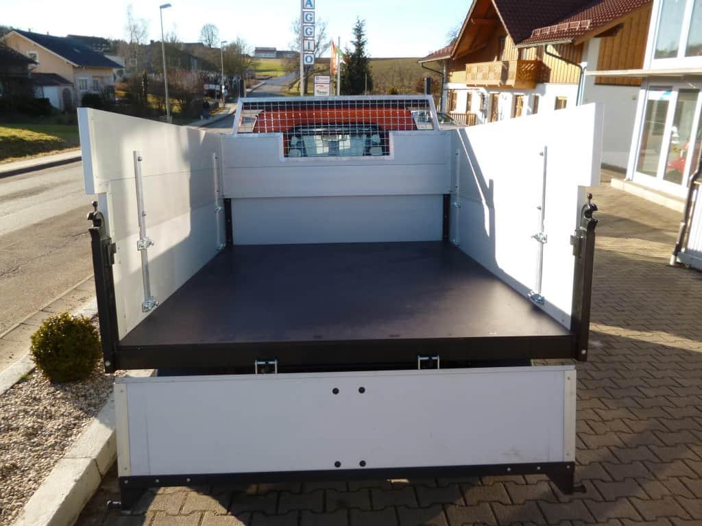 Bordwanderhöhung 40 cm – 3 Seiten mit Sichtfeld und Leiterträger