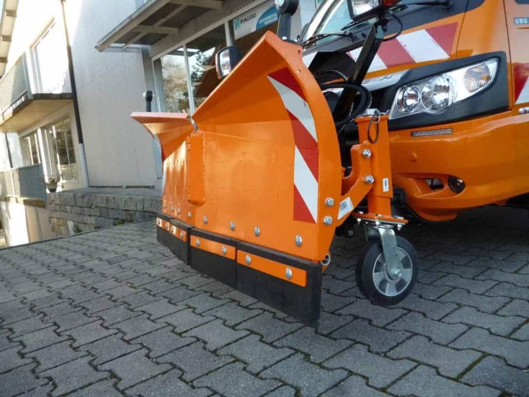 Stützräder für Schneepflug UBV 4